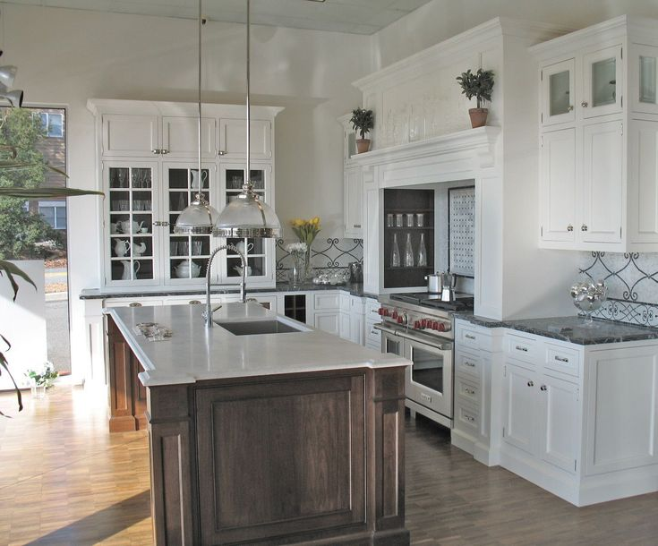 Tall Kitchen Island Table Modern & Traditional Kitchen Cabinets Design Ideas