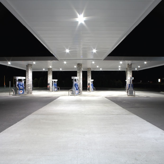Petrol station lighting for forecourt canopies  Advantage Series 320W Recessed  canopy light Affordable energy saving28 best Petrol Station Lighting and Design images on Pinterest  . Exterior Recessed Canopy Lighting. Home Design Ideas