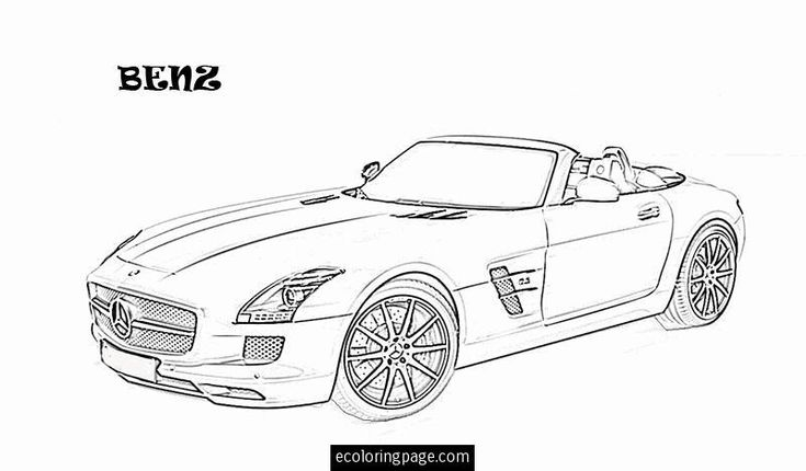 mercedes coloring pages 02