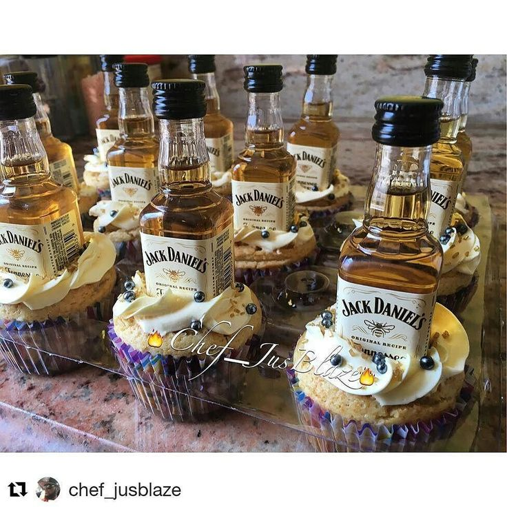 I love your not so ordinary cupcake. THIS one fits the bill! Yummy!  #Repost @chef_jusblaze with @repostapp  Jack Daniels Honey Cupcakes  Jack Daniels Honey Infused Vanilla Based cupcakes with a buttercream icing garnished with platinum candy pearls and g