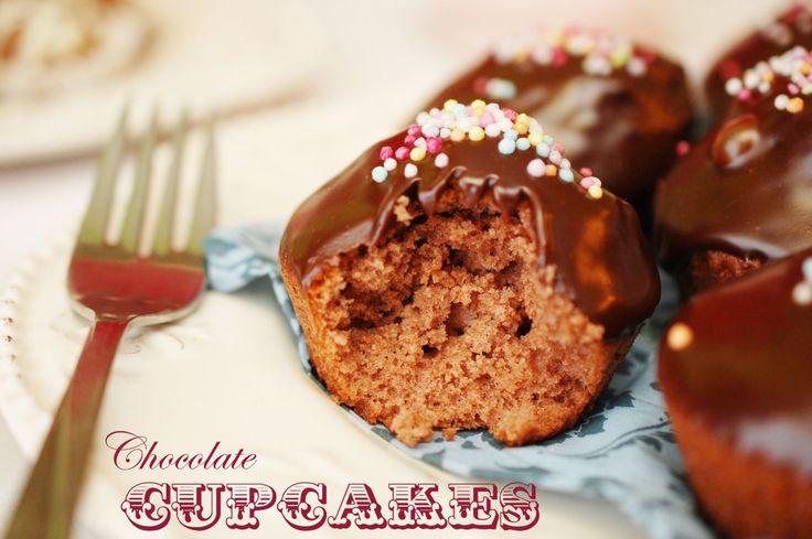 Cupcakes cu ciocolata