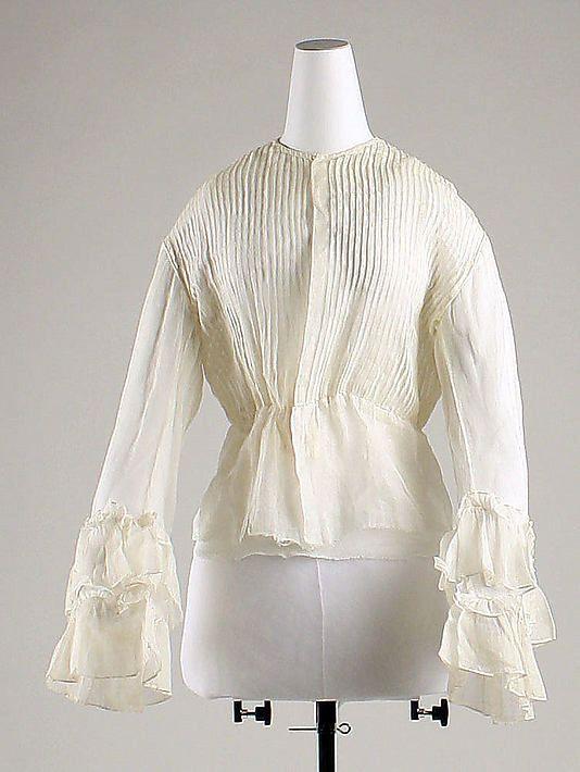 Ensemble  Date: 1869 Culture: American Medium: silk