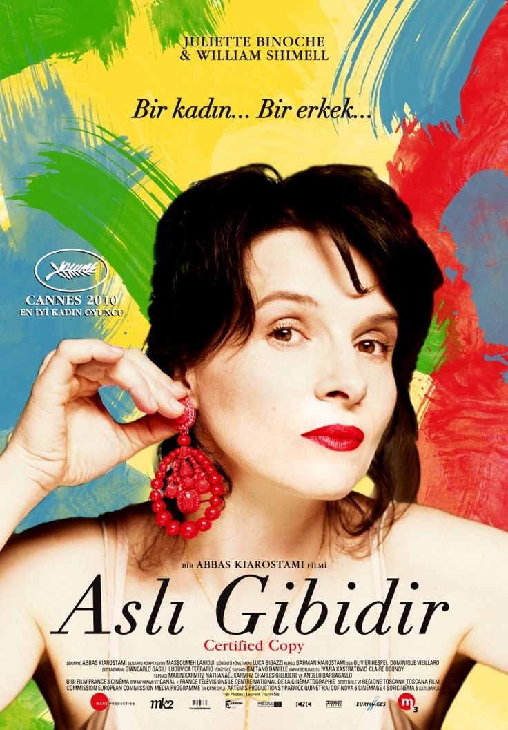 Certified Copy (2010) - Turkish poster
