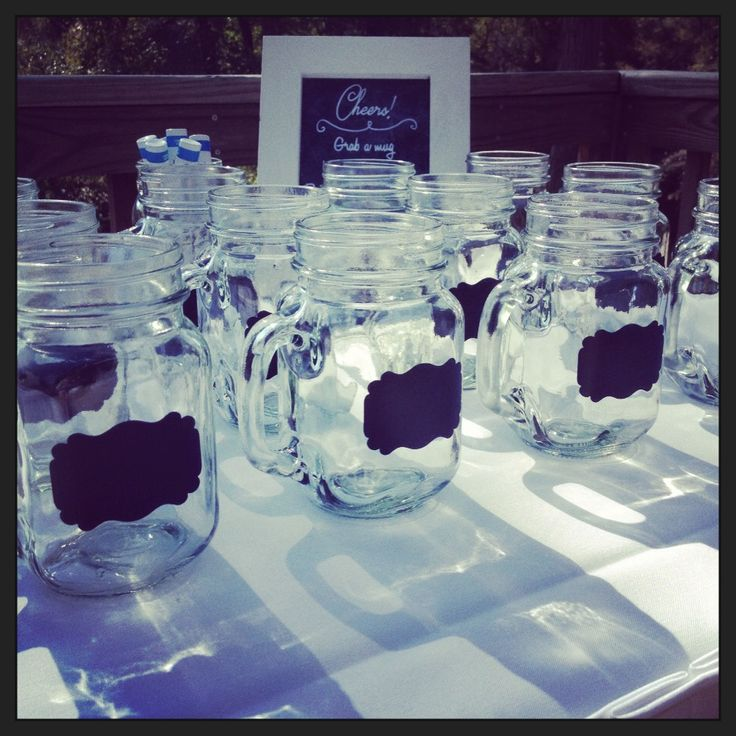 Vintage Wedding Ideas Mason Jars: 17 Best Images About Mason Jar Wedding Ideas On Pinterest