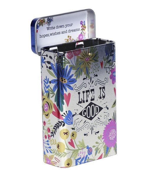 Look at this 'Life is Good' Prayer Box on #zulily today!