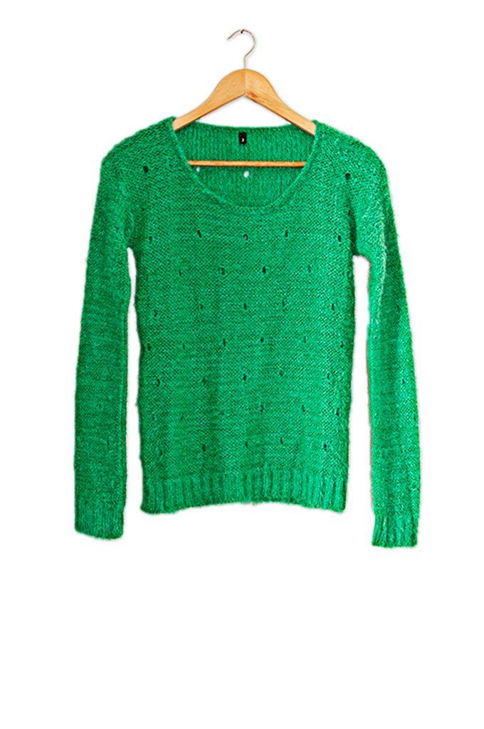 Sweater Calado — Santo Color