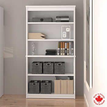 Bestar - White Bookcase