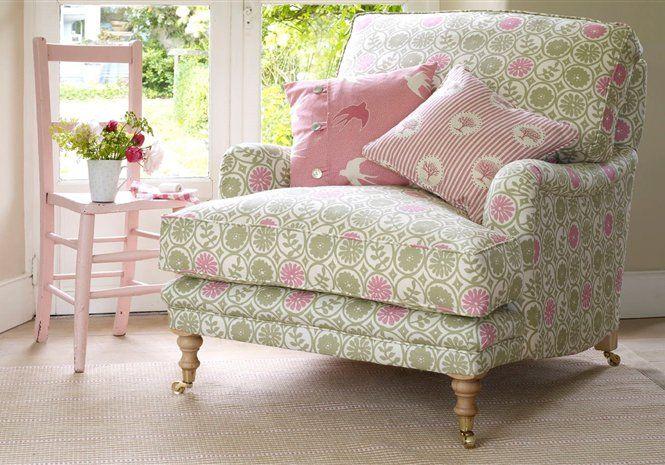 Designer Armchairs Made With Luxury Fabrics, Rustic Country Furniture - Vanessa Arbuthnott