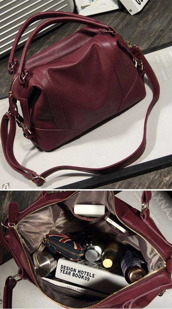 Women's Handbag Female PU Leather Bags Handbags Ladies Portable Shoulder Bag Office Ladies Hobos Bag #Totes bagail.com