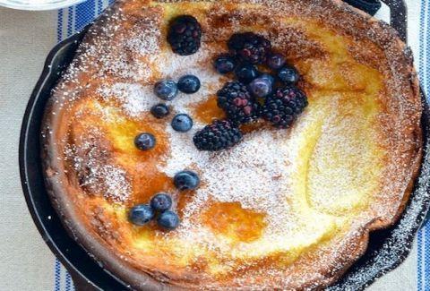 Κέικ με φρούτα στο τηγάνι! (PHOTOS)