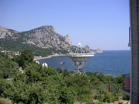 Crimea: Katsiveli Beach