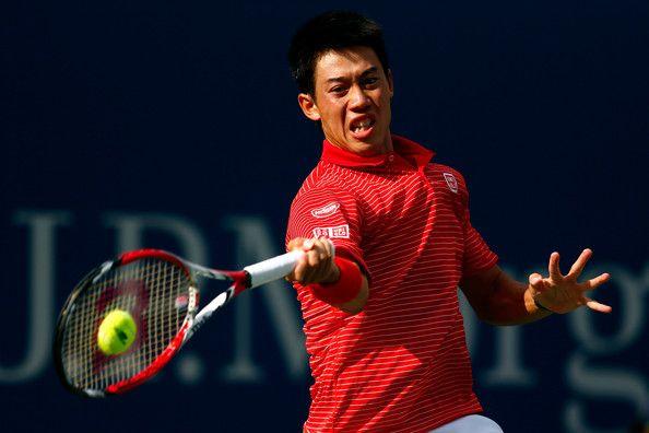 Kei Nishikori Photos - US Open Tennis: Day 8 - Zimbio