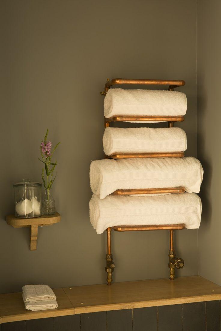 Die 25+ Besten Ideen Zu Industrial Towel Warmers Auf Pinterest ... 10 Ideen Fur Toiletten Sanitar