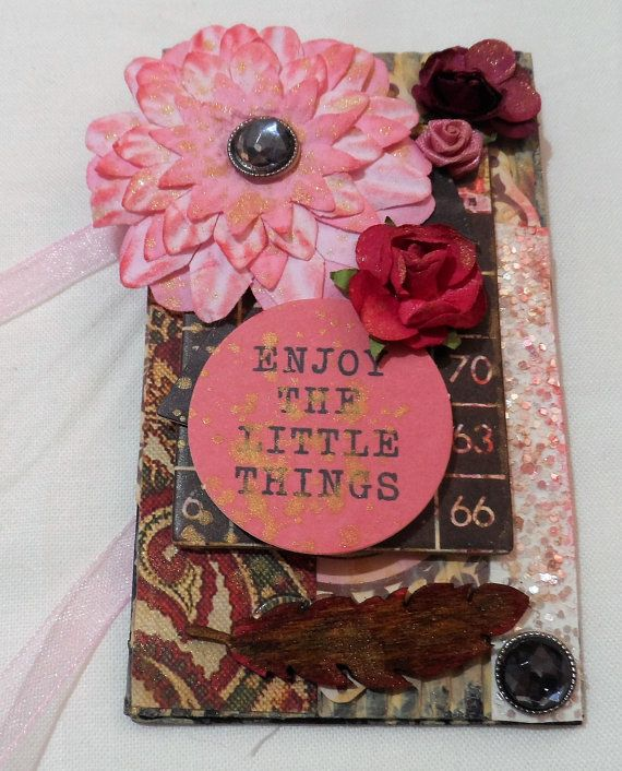 Tags Gift Tags Handmade Tags Shabby Chic Tags Mixed Media