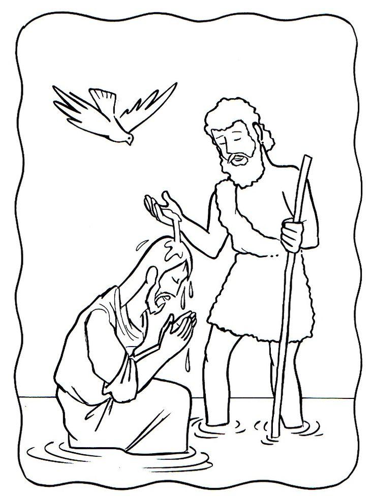 Mejores 138 imágenes de Jean Baptiste - baptême Jésus en Pinterest ...