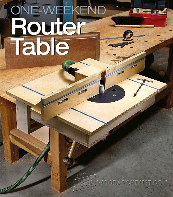 1890-Bench-Mounted Router Table Plans