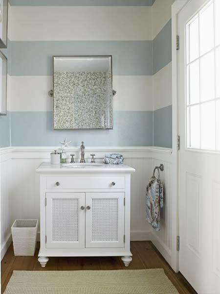 17 Wide Bathroom Vanity: 17 Best Ideas About Striped Bathroom Walls On Pinterest