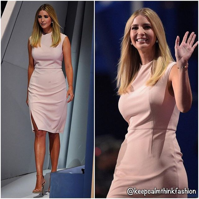 Ivanka Trump speaking at the 2016 Republican National Convention in Cleveland. ( Just Jared) #republicanconvention #cleveland #redcarpet #celeb #celebstyle #instaceleb #instastyle #instafashion #fashion #fashionista #style #keepcalmthinkfashion #ivankatrump @ivankatrump
