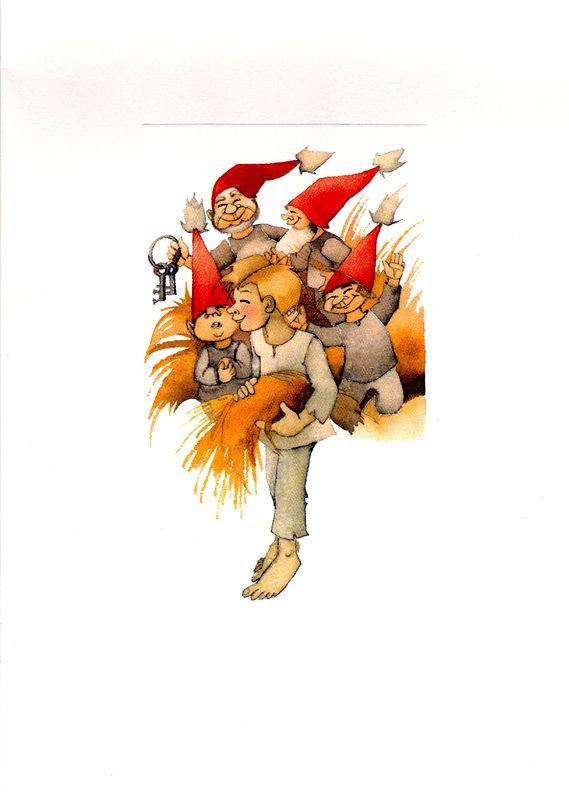 Kuva albumissa RIIKKA JUVONEN - Google Kuvat.  GUMMERUS, kuva Raija Orasen kirjan kuvitusta, iso tk.