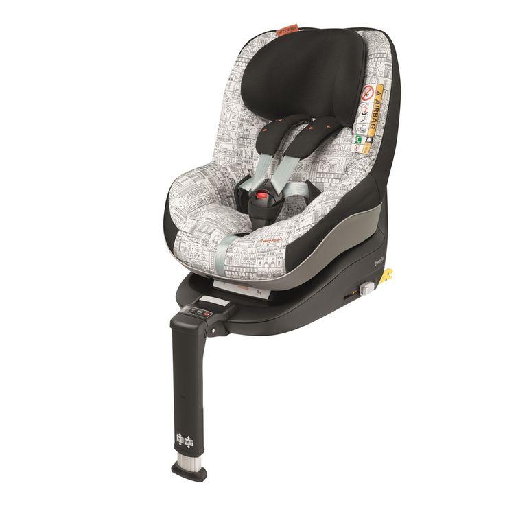 MAXI-COSI автокресло Pearl 2way Celebration Детское автомобильное кресло Maxi-Cosi 2wayPearl предназначено для детей в возрасте от 6 месяцев до 4-х лет и соответствует новому стандарту безопасности i-Size. Автокресло Maxi-Cosi 2wayPearl устанавливается в автомобиль против хода движения, так как данное положение наиболее безопасно для маленького пассажира. По достижению ребенком 15 месяцев Maxi-Cosi 2wayPearl можно переставить по ходу движения, однако производитель рекомендует возить ма...