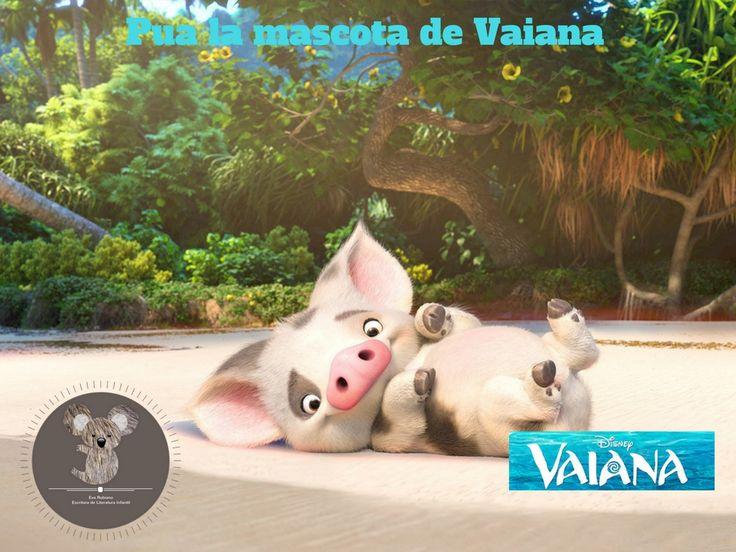 Tui es la mascota de Vaiana es graciosamente gracioso. #vaiana #evarubiano @evarubiano #cineparaniños #estrenos