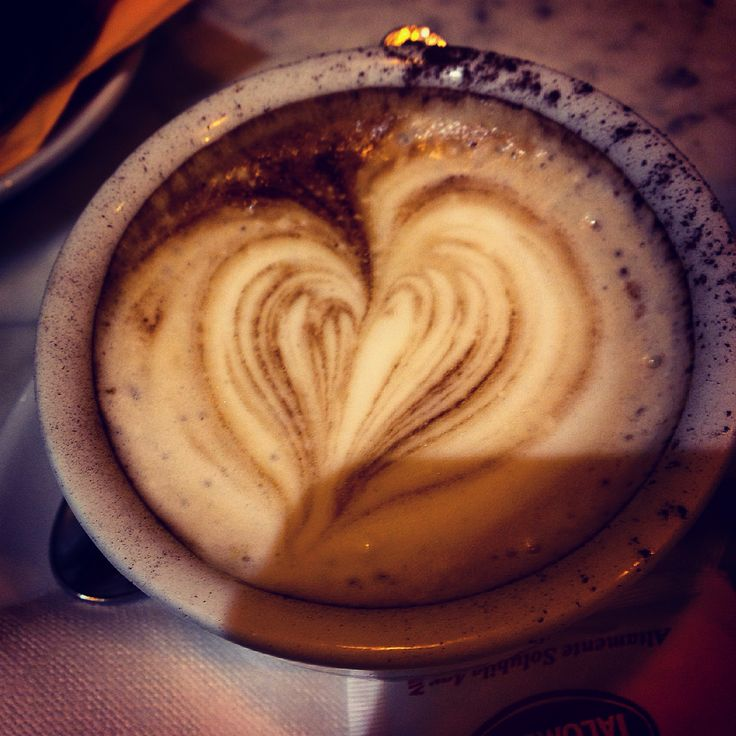 #italy #coffee #cappuccino #heart #symbol #cup #afternoon #travel