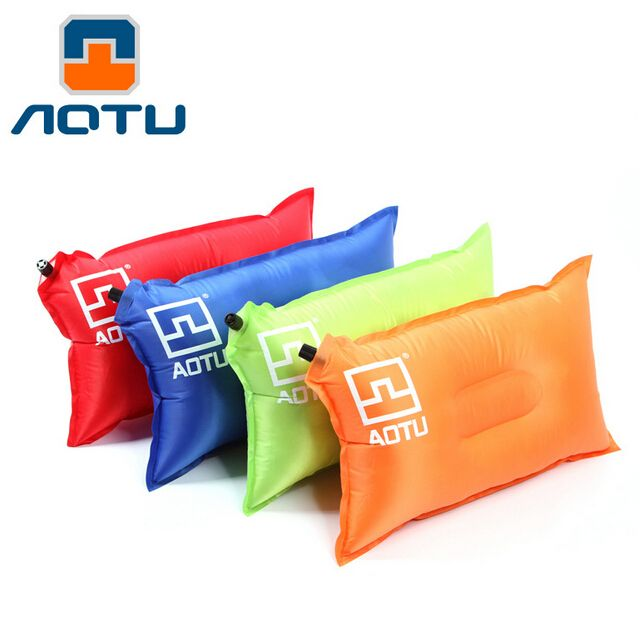 Automatic Inflatable Air Cushion Pillow Portable Outdoor Travel Popular Bed Travel Air Pillow Camping Hiking Backpacking 313