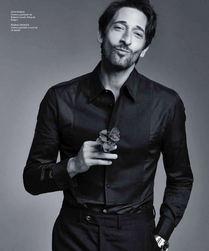 adrien brody big black book photos 007 Houdini Star Adrien Brody for Esquire   The Big Black Book Mexico