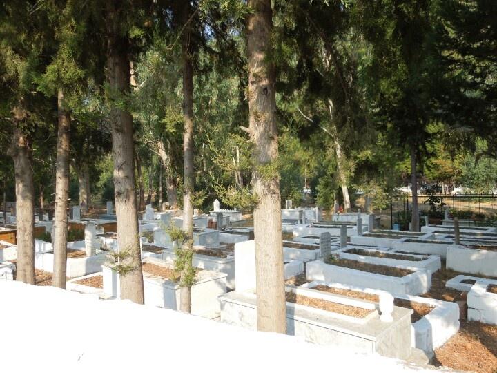 Graveyard - Dalyan, Turkey