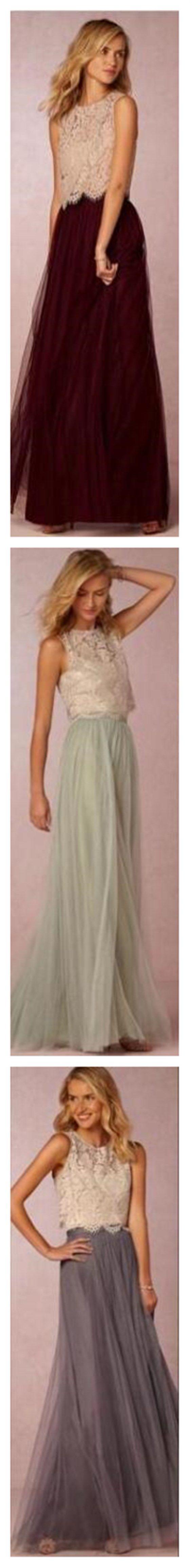 Tulle Bridesmaid Dresses,A-line Bri