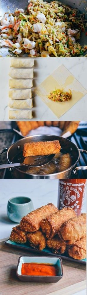 Take-out Egg Rolls Recipe by the Woks of Life