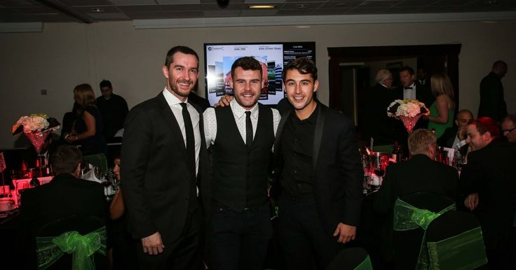 Emmerdale hunks Danny Miller, Anthony Quinlan and Joe Gill joined VIPs at the JD Foundation charity ball in Manchester ahead of soap's big week