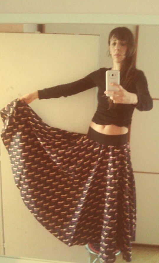 Circle skirt - Tutorial