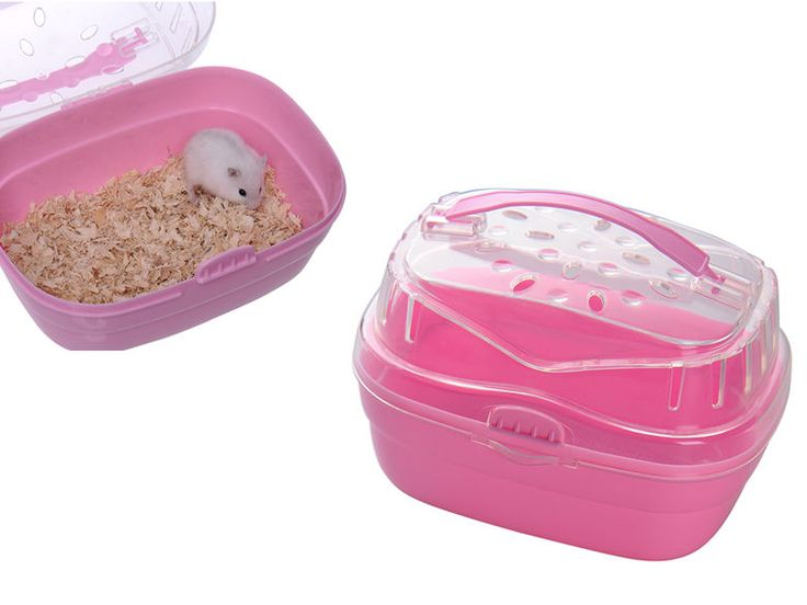 Animal Pet Carrier Travel Transport Cage Hamster Gerbil Rat Plastic Travel Cage   eBay