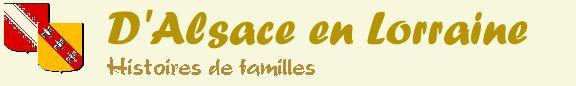 genealogy resources for Alsace-Lorraine / Elsass-Lothringen - France - Germany