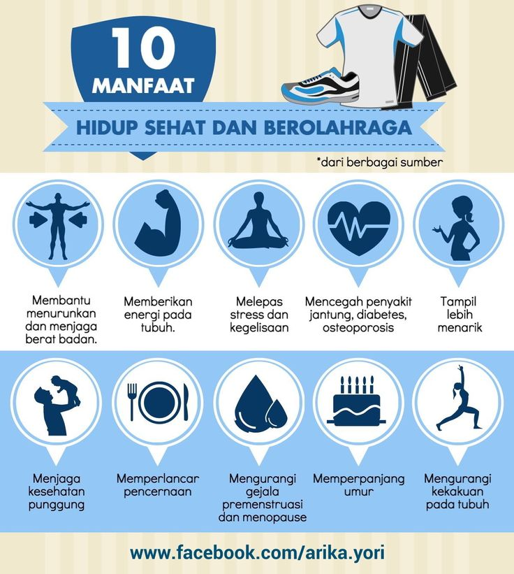 Sepuluh Manfaat Hidup Sehat dan Berolahraga