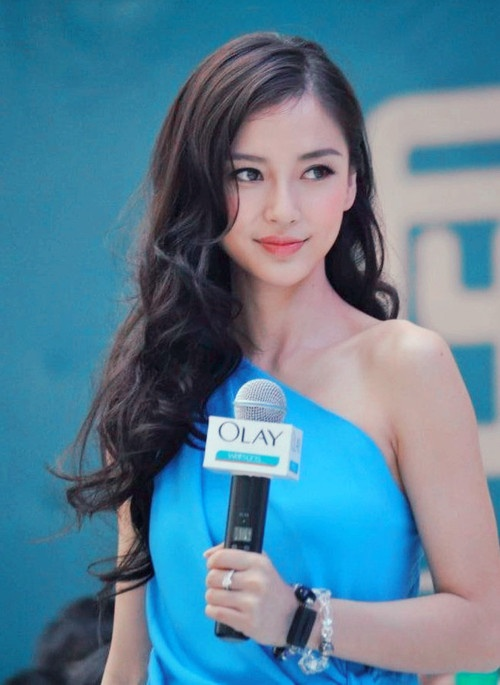 angelababy - love her hair