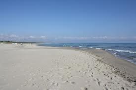 Ginosa Marina, the long beach  Puglia region (Italy)