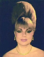 A bees would kill for this beehive (washsetstyle) Tags: hair 60s hairdo 1960s bouffant hairstyle beehive hairstyles hairdos