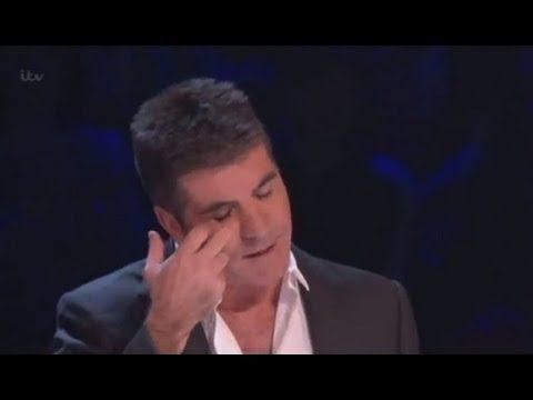 Simon Cowell cry - Attraction Semi Final [HD] - Britain's Got Talent 201...
