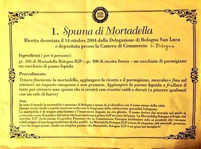 [gli amici di Iperbole segnalano] Vista l'ora ecco la ricetta della spuma di mortadella foto di @PiazzaMinghetti via twitter