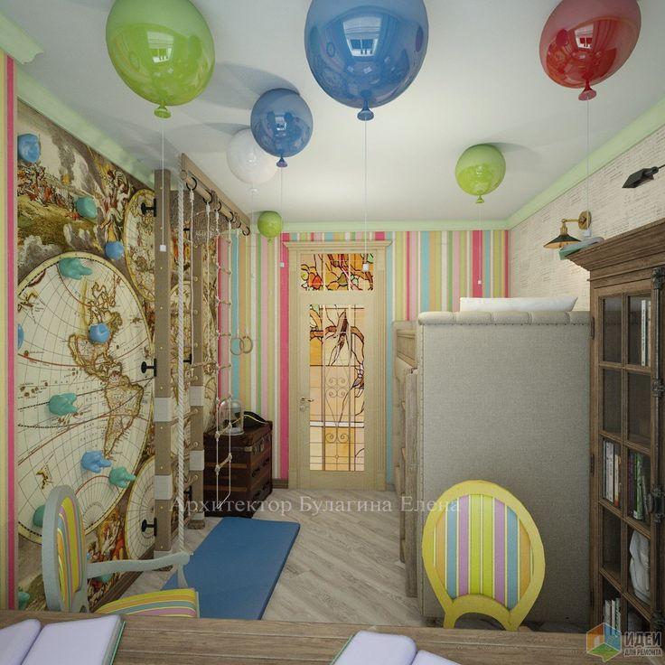 Фотографии [268426]: Детская комната для братьев от архитектора Елена Булагина