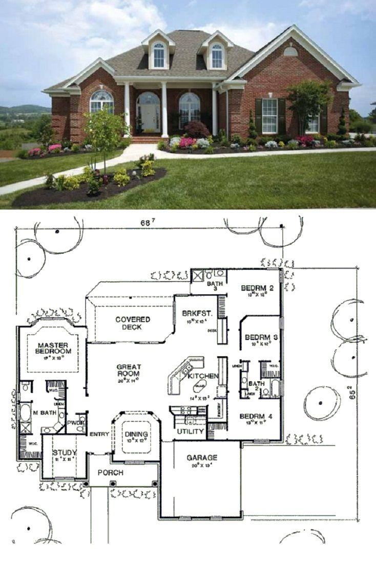 48 best craftsman home plans images on pinterest house floor