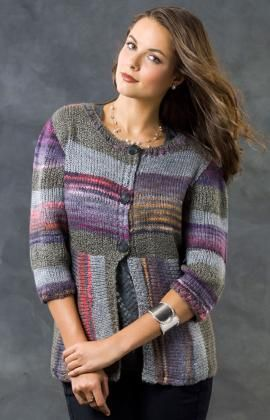 Magical Stripes Cardi By Alice Tang - Free Knitted Pattern ...