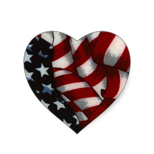 """Adesivo """"Bandeira dos Estados Unidos"""""""