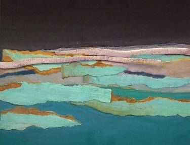 "Saatchi Art Artist Elena César Mata; Collage, ""Marítimo I"" #art"