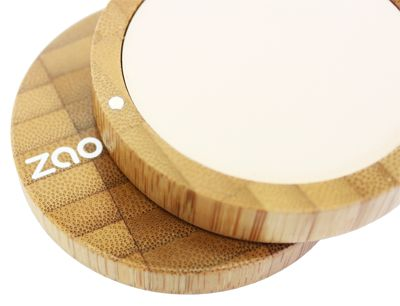 Compact powder : Refillable, 100% natural, organic certified, cruelty free