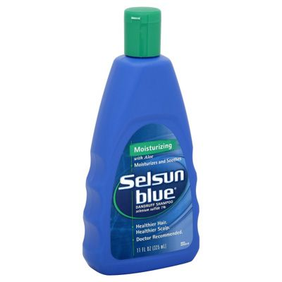 "Selsun Blue Moisturizing Dandruff Shampoo – use it as a wash every day to every other day on face and back to treat Facial Acne, Back Acne, and ""white sun spots"" know as Tinea Versicolor, a skin fungus. #charlottepediatricclinic"