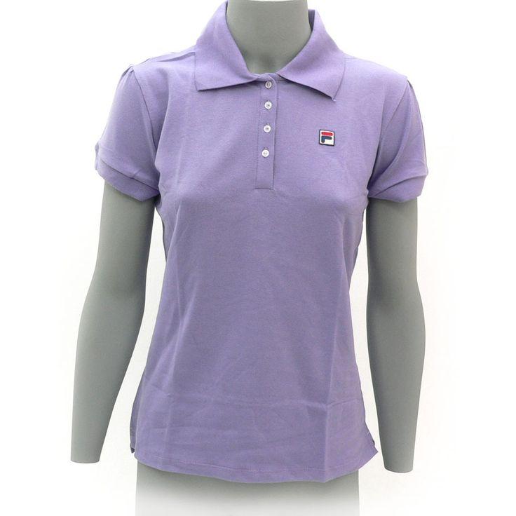 Camisa Fila Feminina Polo Gracie New Lilas