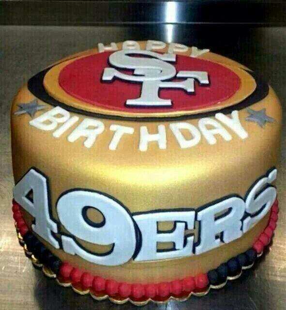 49ers Birthday Cake